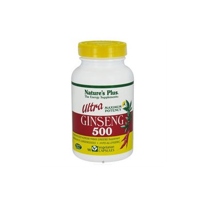 Nature's Plus - Ultra Ginseng 500 mg. - 90 Vegetarian Capsules