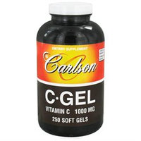 Carlson Laboratories C-Gel 1000 MG - 250 Softgels - Vitamin C