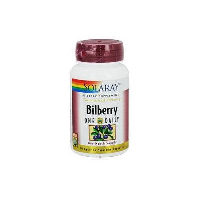 Solaray - Guaranteed Potency Bilberry Extract One Daily - 30 Capsules