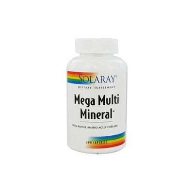 Solaray Mega Multi Mineral - 200 Capsules - Multiminerals