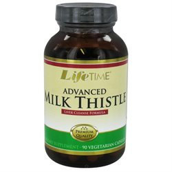 Lifetime Advanced Milk Thistle - 90 Vegetarian Capsules