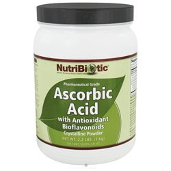 Nutribiotic - Ascorbic Acid Crystalline Powder with Antioxidant Bioflavonoids - 2.2 lbs.