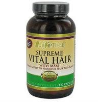 LifeTime Vitamins - Supreme Vital Hair With MSM - 120 Capsules