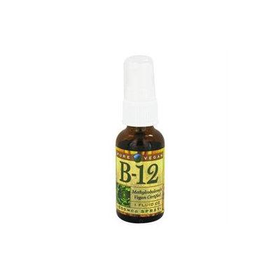 Pure Vegan B-12 - 500 mcg - 1 fl oz