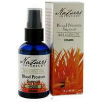 tures Inventory Nature's Inventory - Wellness Oil Organic Blood Pressure Support - 2 oz.