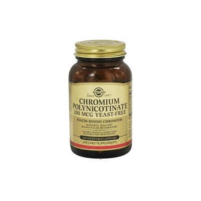 Solgar Chromium Polynicotinate 200MCG - 100 Veggie Caps - Other Minerals