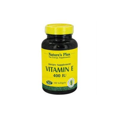 Nature's Plus - Vitamin E 400 IU - 180 Softgels