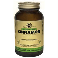 Solgar - FP Cinnamon Vegetable Capsules - 100 [Health and Beauty]