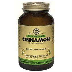 Solgar - FP Cinnamon Vegetable Capsules - 100 [Health and Beauty]