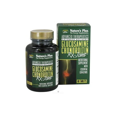 Nature's Plus - Glucosamine Chondroitin Rx-Joint - 60 Tablets