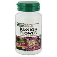 Nature's Plus Herbal Active's Passion Flower - 250 mg - 60 Vegetarian Capsules