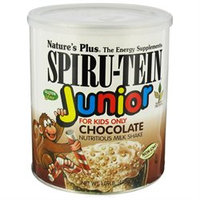 Nature's Plus Spiru-Tein Junior Milk Shake Chocolate - 1.09 lbs