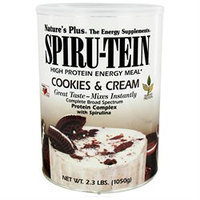 Nature's Plus Spiru-Tein Shake Cookies & Cream - 2.3 lbs