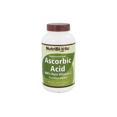NutriBiotic Ascorbic Acid 100% Pure Vitamin C Powder - 16 oz
