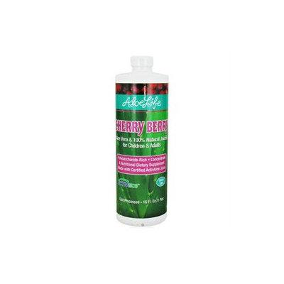 Aloe Life Whole Leaf Aloe Vera Juice Concentrate Cherry Berry