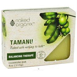 Organix South - Naked Organix Tamanu Cleansing Bar Fragrance Free - 4 oz.