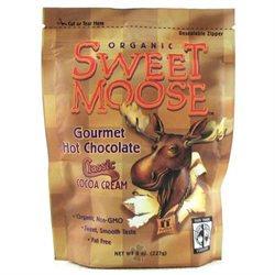 FunFresh Foods - Sweet Moose Gourmet Hot Chocolate Organic Cocoa Chocolate - 8 oz.