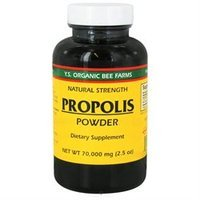YS Royal Jelly/Honey Bee Propolis Powder 70,000 MG - 2.5 Ounces Powder - Bee Products