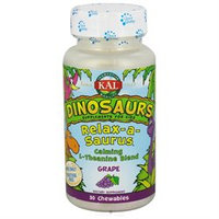 Kal Dinosaurs Relax-a-Saurus Grape - 30 Chewables