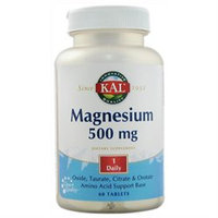 KAL Once Daily Magne 500 MG - 60 Tablets - Magnesium