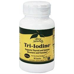 EuroPharma - Terry Naturally Tri-Iodine 12.5 mg. - 90 Capsules