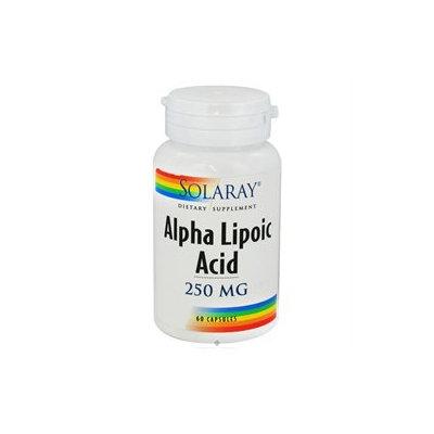 Solaray Alpha Lipoic Acid - 250 mg - 60 Capsules