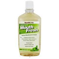 NutriBiotic Mouth Fresh Mouthwash Peppermint - 16 fl oz