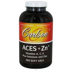 Carlson Laboratories Aces + Zinc - 360 Softgels - All Other Antioxidants