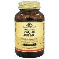 Solgar - Megasorb CoQ-10 400 mg. - 30 Softgels
