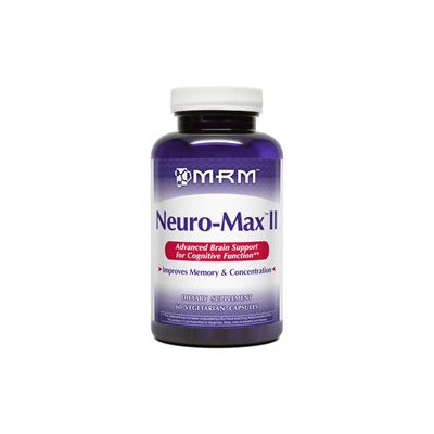 MRM - Neuro-Max II - 60 Vegetarian Capsules