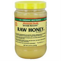 Ys Royal Jelly/honey Bee YS Organic Bee Farms - Raw Honey - 22 oz.