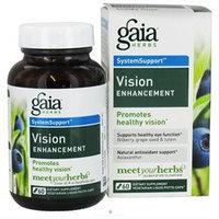 Gaia Herbs, Vision Enhancement 60 Vegetarian Liquid Phyto-Caps
