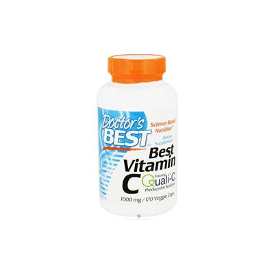 Doctor's Best Best Vitamin C 1000mg, Veggie Caps