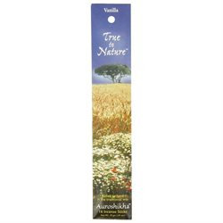 True To Nature Incense Vanilla, 10 g, Auroshikha Candles & Incense