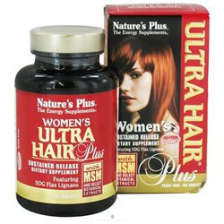 Nature's Plus Ultra Hair Plus for Women - 60 Tablets
