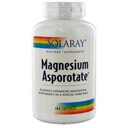 Solaray - Magnesium Asporotate - 180 Capsules