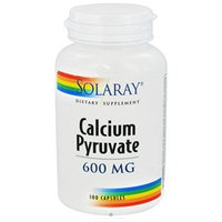 Solaray - Calcium Pyruvate 600 mg. - 100 Capsules