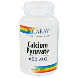 Solaray - Calcium Pyruvate 600 mg. - 100 Capsules