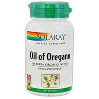 Solaray Oil of Oregano - 150 mg - 60 Softgels