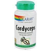 Solaray Cordyceps 520 MG - 100 Capsules - Sports Supplements