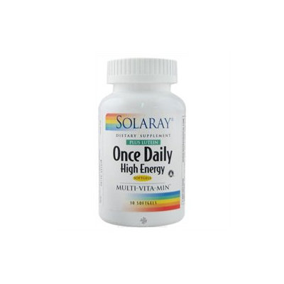 Solaray - Once Daily High Energy Multi-VitaMin Plus Lutein - 30 Softgels