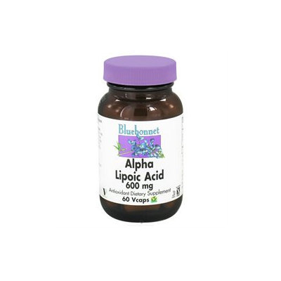 Bluebonnet Nutrition - Alpha Lipoic Acid 600 mg. - 60 Vegetarian Capsules
