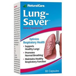 Lung Saver 60 Caps from Natural Care