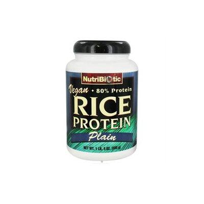NutriBiotic Rice Protein Powder Vegan Plain - 600 g