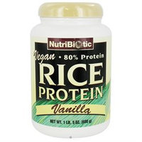 NutriBiotic, Vegan Rice Protein Vanilla 1 lb 5 oz