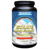MRM 100% All Natural Isolate Whey Protein - French Vanilla