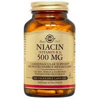 Solgar - Niacin Vitamin B3 500 mg. - 100 Vegetarian Capsules