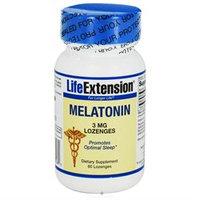 Life Extension Melatonin 3 Mg, 60 Lozenges