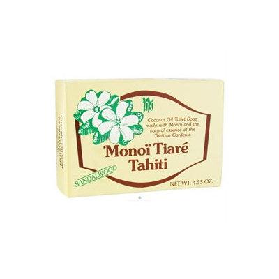 Monoi Tiare Tahiti Coconut Oil Soap - Sandalwood