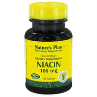 Niacin 100 mg 90 Tablets from Nature's Plus